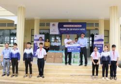 EVNGENCO 3 tặng máy vi tính cho trường học tại Gia Lai