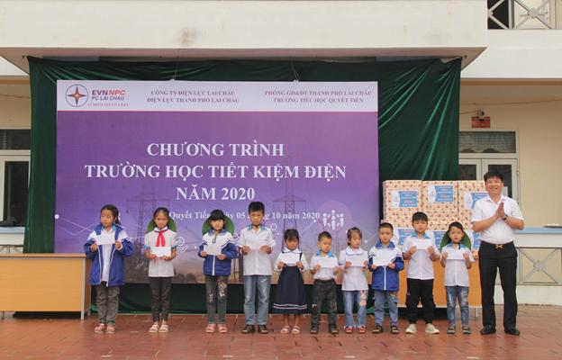 PC Lai Châu với chương trình 'Chung tay tiết kiệm điện vì lợi ích cộng đồng'