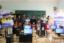 EVNGENCO 3 tặng máy vi tính cho các trường học tại Kon Tum