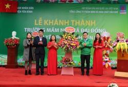 Khánh thành công trình trường mầm non tại Yên Bái do PVFCCo tài trợ