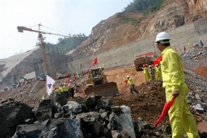Thủy điện Lai Châu: Mục tiêu phát điện tổ máy số 1 vào tháng 3/2016