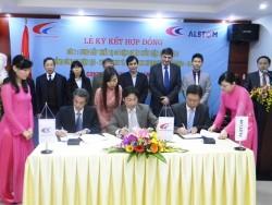 Ký hợp đồng cung cấp thiết bị cơ điện dự án thủy điện Đồng Nai 5