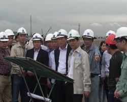 Thi công hệ thống cảng chuyên dụng Nhiệt điện Thái Bình 2