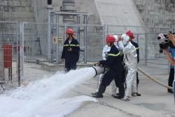 Thủy điện Sơn La: Sản xuất gắn với an toàn lao động