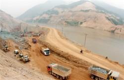 Thủy điện Lai Châu đẩy nhanh tiến độ vượt lũ