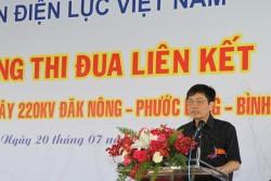 Cam kết đẩy nhanh tiến độ xây dựng đường dây 220 kV Đắk Nông - Phước Long - Bình Long