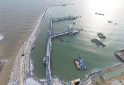 Lọc dầu Nghi Sơn được phép xả nước thải thử áp ra biển