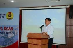 PVC-MS: Tập huấn nghiệp vụ cán bộ Công đoàn năm 2012