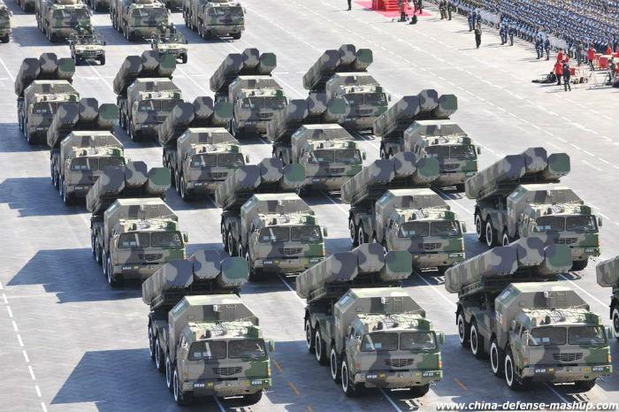 Khả năng sản xuất vũ khí với số lượng lớn và đa dạng giúp Trung Quốc chiếm ưu thế trong một cuộc chiến tranh truyền thống