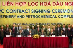Hợp đồng EPC Dự án Liên hợp Lọc hóa dầu Nghi Sơn đã được ký kết