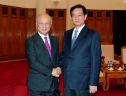 IAEA sẽ hỗ trợ Việt Nam phát triển các dự án điện hạt nhân