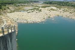 Các hồ thuỷ điện đang thiếu hụt nguồn nước