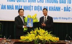 Bắt đầu thực hiện đầu tư DA Nhiệt điện An Khánh - Bắc Giang