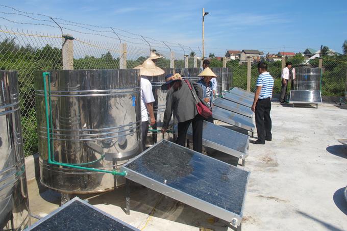Ứng dụng năng lượng mặt trời trong sản xuất nước mắm 1