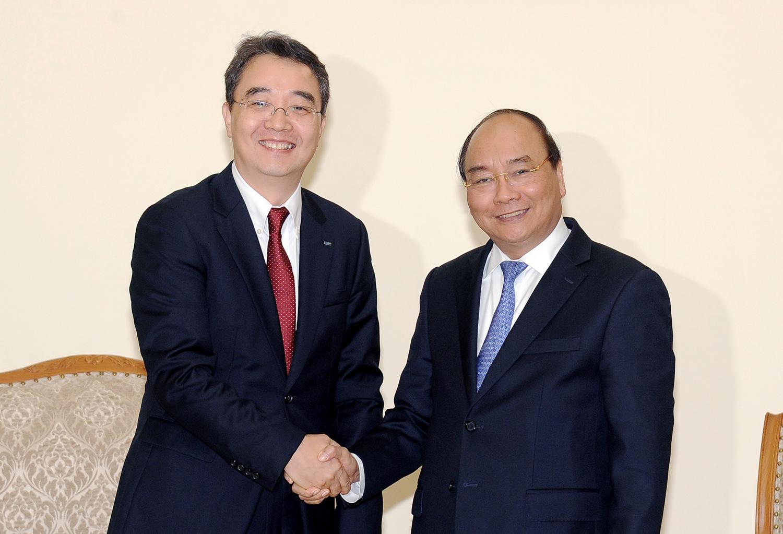 Thủ tướng tiếp tân Tổng giám đốc Doosan Vina