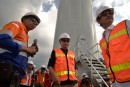 Starting up the wind power project of 12 trilion VND in Quang Binh province