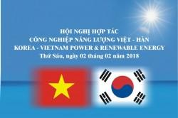Hội nghị hợp tác công nghiệp năng lượng Việt - Hàn