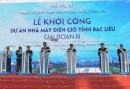 Starting construction of the Bac Lieu wind power project (phase 3)
