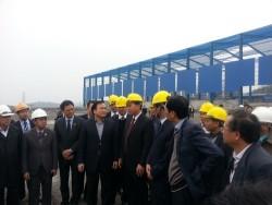 Phó thủ tướng thị sát công trình điện, than tại Quảng Ninh