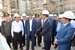 Chủ tịch nước kiểm tra tiến độ Dự án Lọc hóa dầu Nghi Sơn