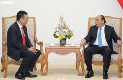 Thủ tướng tiếp nhà đầu tư Tổ hợp Lọc hoá dầu miền Nam