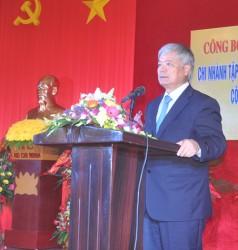 Công bố quyết định thành lập Cty Chế biến than Quảng Ninh