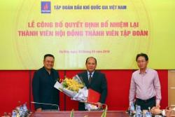 Công bố Quyết định bổ nhiệm lại Thành viên HĐTV PVN