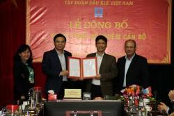 Bổ nhiệm lại Trưởng đại diện chủ đầu tư DA Nhiệt điện Thái Bình 2