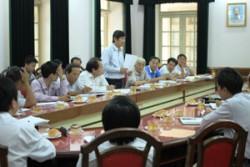 Thống nhất phương án chống hạn vùng hạ du sông Vu Gia - Thu Bồn