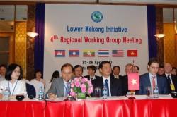 Họp Nhóm công tác hợp tác hạ nguồn Mekong - Mỹ