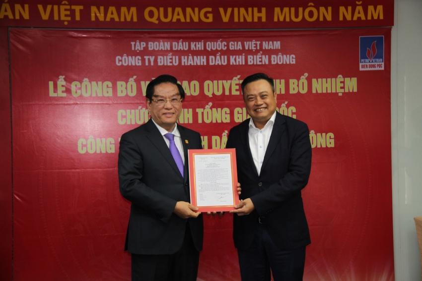 Bổ nhiệm ông Ngô Hữu Hải làm Tổng giám đốc BienDong POC 1