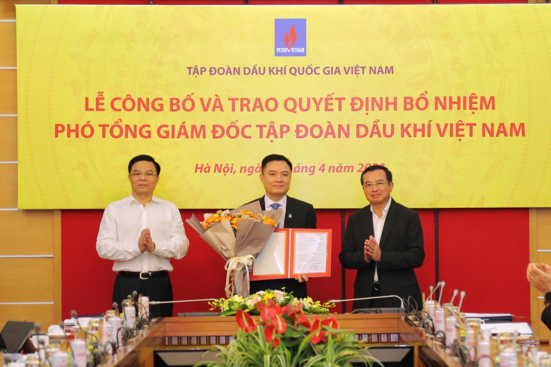 Công bố quyết định bổ nhiệm ông Lê Ngọc Sơn làm Phó Tổng giám đốc PVN