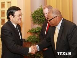 Việt Nam ủng hộ Hoa Kỳ hợp tác trong lĩnh vực dầu khí