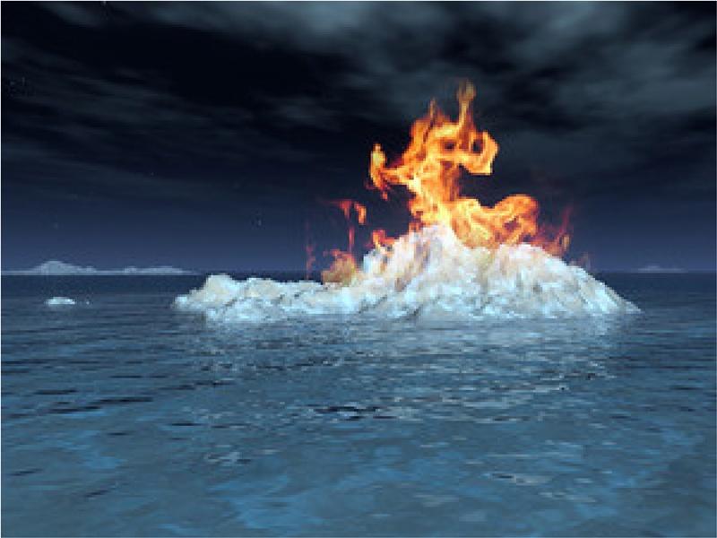 Khai thác thành công nguồn năng lượng từ băng cháy