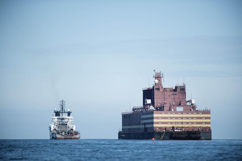 Nhà máy điện hạt nhân nổi của Nga đã tới Cực Bắc