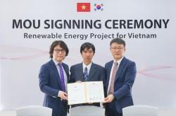 TDTU và đối tác Hàn Quốc hợp tác phát triển điện tái tạo Việt Nam