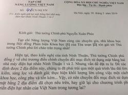 Kiến nghị giữ lại mặt bằng nhà máy điện hạt nhân Ninh Thuận 1 và 2