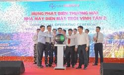 Dự án điện mặt trời Vĩnh Tân 2 phát điện thương mại