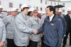 Báo chí quốc tế bình luận sự kiện Chủ tịch nước Việt Nam đến mỏ Khosedayu
