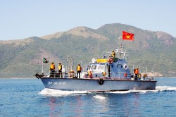 PV Gas và công tác an ninh công trình dầu khí trên biển