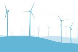 Khởi công xây dựng dự án điện gió Mũi Dinh