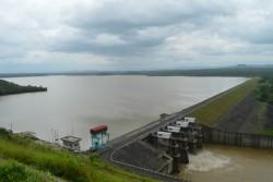 Lắp đặt trạm đo mưa tự động tại Thủy điện Buôn Kuốp