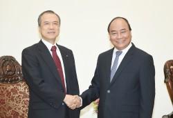 Thủ tướng tiếp Tổng giám đốc Tokyo Gas