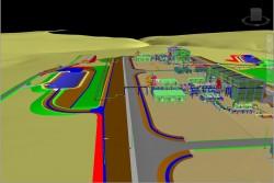 Tổng thể tiến độ dự án Đường ống dẫn khí Lô B - Ô Môn