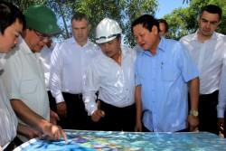 Sớm triển khai chuỗi dự án khai thác khí từ mỏ Báo Vàng