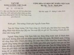 Giới khoa học nhận xét về phản biện của Tạp chí Năng lượng Việt Nam