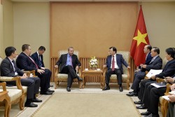 Việt Nam khuyến khích đối tác Hoa Kỳ tham gia phát triển nguồn điện