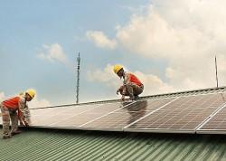 Mô hình điện mặt trời mái nhà ở Hà Nam, sau khởi động của ngành điện