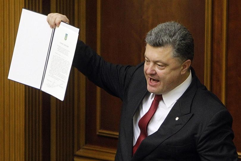 Giờ thì ai dám đóng cửa Ukraine với châu Âu...