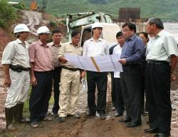 Chốt tiến độ hoàn thành công trình Thủy điện Lai Châu